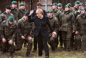 Германия решила активнее использовать бундесвер