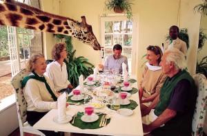 Отель «Поместье Жирафов»