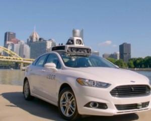 Uber тестирует такси без водителей