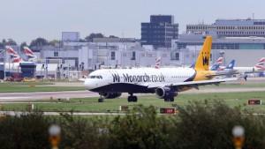 Авиакомпания «Monarch Airlines» прекращает свою деятельность