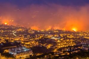 В Португалии удалось взять под контроль пожары, распространившиеся на северном востоке страны